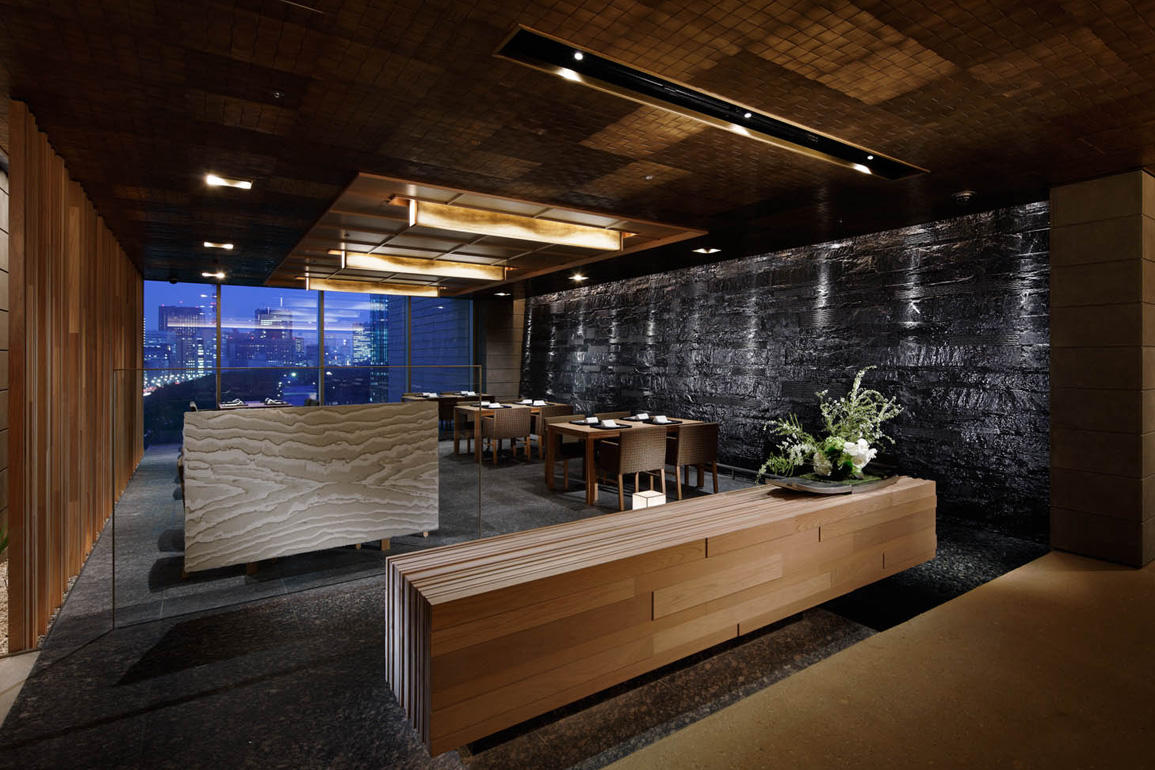 A n d nomura co ltd projects palace hotel tokyo for Hotel b design